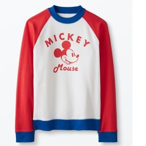 NWT 100% Cotton Mickey Mouse Sweatshirt XL